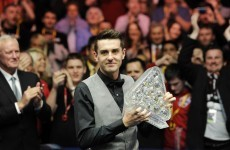 Selby wins third Masters title