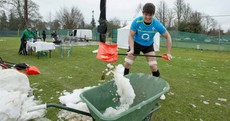 Caption competition: Donncha O'Callaghan doing the unseen work again in Carton House