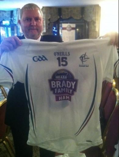 Hamtastic! Kildare's GAA jersey with new sponsor