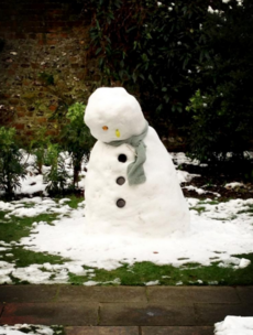 The story of the saddest snowman ever