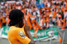 Hey Arsenal fans, why can Gervinho score goals like this in an Ivory Coast jersey?