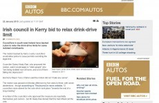 Here's how the world reacted to the Kerry drink-driving story