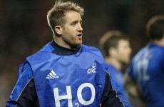 No more Mr Waterboy: Fitzgerald raring to go against Saxons
