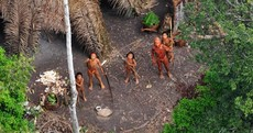 In photos: rare glimpse of 'uncontacted' Amazonian tribe