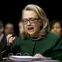 Clinton vows to strengthen US embassy security after Libya attack