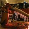 Photos: Firefighters battle blaze at freezing Chicago warehouse