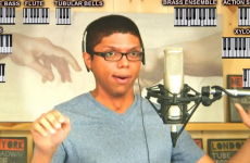 VIDEO: The Chocolate Rain guy sings The Hobbit theme song