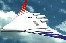 'Hybrid wing' plane uses half the fuel of a standard aeroplane