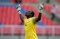 VIDEO: Zambia keeper Kennedy Mweene snatches draw — by scoring a penalty