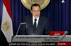 """Mubarak: """"I will die on the soil of Egypt"""""""