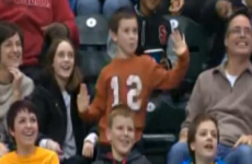 We could all learn something from this kid bustin' a move on an NBA Dance Cam