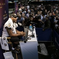Baltimore talisman Ray Lewis allegedly used a banned deer antler spray to recover from an arm injury