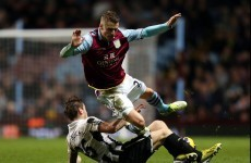 Newcastle send floundering Villa into bottom three