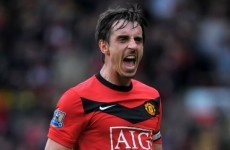 Gary Neville calls time on his career