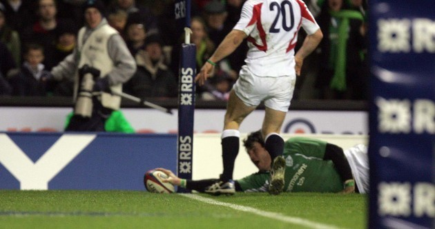 15 steps to a wonder-try: Shane Horgan's last-gasp winner v England, 2006