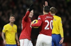 Rooney on the double as Manchester United go 7 points clear