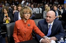 Video: 'You must act. Be bold' - Gabrielle Giffords testifies before US senators