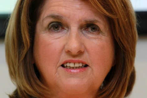 Labour Party Minister for Social Protection Joan Burton
