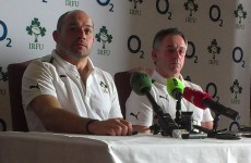 'If you have a spare few pounds, don't put it on me for 1st try-scorer' - Rory Best