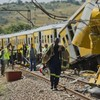 150 in hospital after South Africa rail crash