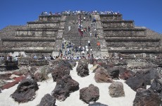 Archaeologists puzzled by discovery of 150 skulls in central Mexico