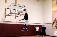 """Being 5'5"""" tall doesn't stop Porter Maberry from making massive dunks"""