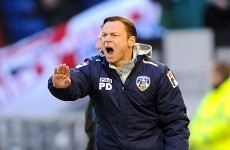 Dickov is off: Giantkiller Paul steps down as Oldham boss