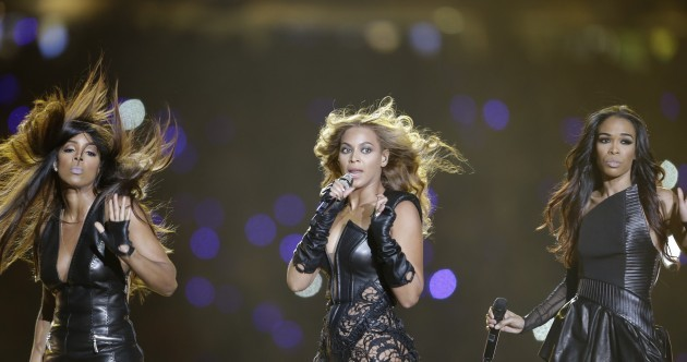 Video: Beyoncé's performance at the Super Bowl Halftime Show