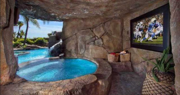 14 ultimate man caves we wish we'd watched the Superbowl in