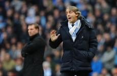 Bullish Roberto Mancini not giving up on title battle