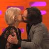 WATCH: Paul Rudd lobbed the gob on Helen Mirren