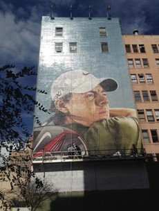 Rory McIlroy -- the new face of Nike is also the new face of this San Diego building