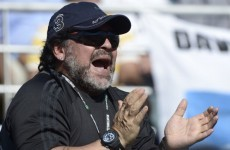 'I only played football' -- Diego Maradona denies Italian tax evasion claims