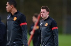 Manchester United defender Phil Jones sidelined by shingles