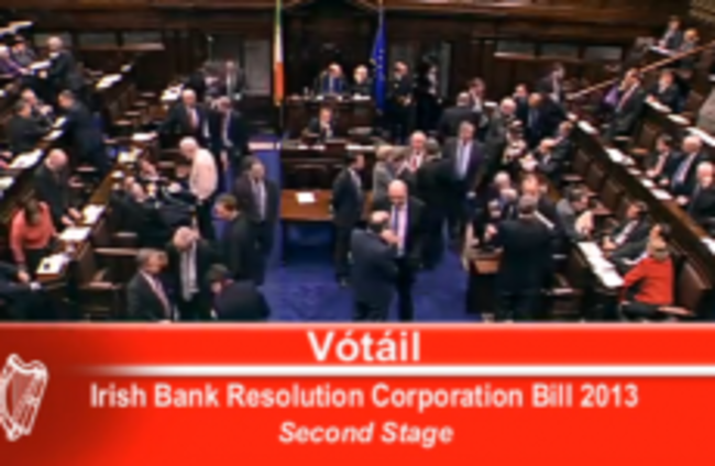 As it happened: Dáil approves Bill to liquidate IBRC