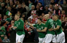 VIDEO: Clark and Hoolahan on target as Ireland get the year off to a winning start