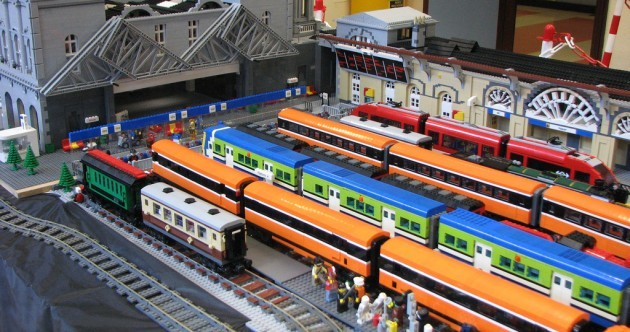 In pictures: Heuston Station... in minute Lego detail