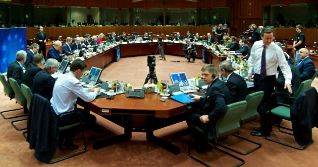 Leaders strike a deal on EU budget until 2020