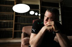 Caption competition: What was Jamie Heaslip thinking at Carton House today?