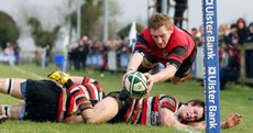 Pic of the day: It's just a shame this try was disallowed