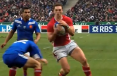 VIDEO: Here's the try that ended 11 months of hurt for Wales