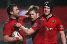 Pro12: Penney delighted after Munster win pops Cork hoodoo