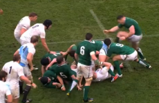 VIDEO: Cian Healy could be in big trouble for this stamp