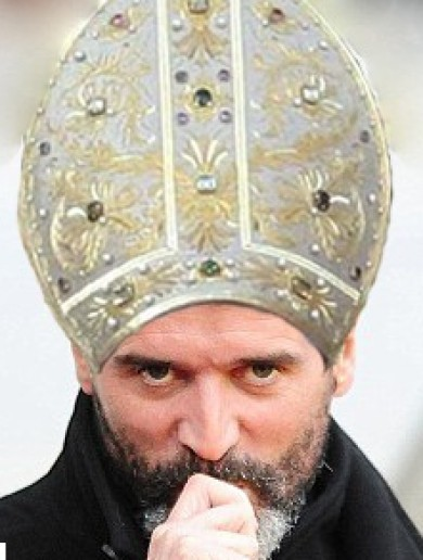Snapshot: Pope resigns, Roy Keane reckons he could do a job