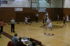 VIDEO: You don't see a full-court, one-hop basketball shot made every day