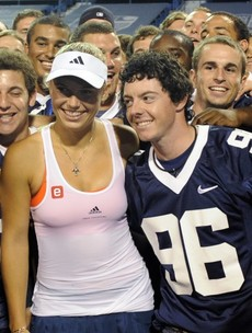 Happy Valentine's Day to these 7 power couples of sport