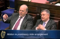 Video: Noonan accuses Donnelly of 'lying', quickly withdraws remark