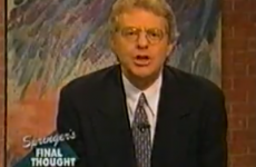 Happy Birthday Jerry Springer! Here are some of your best TV moments