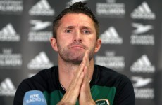 Forward thinking: Robbie Keane says he'd like to manage Ireland some day