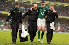 Double blow as Sexton, McCarthy ruled out of Ireland's trip to Scotland